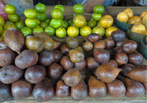 ...und Früchten.