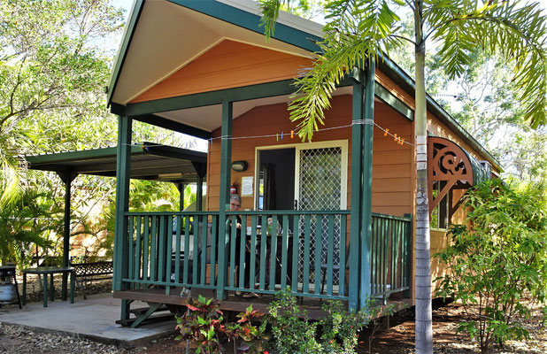 Das Cabin in Bitter Springs, Mataranka.
