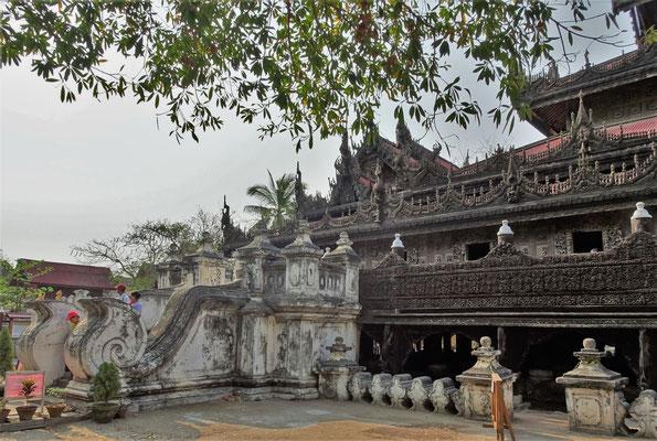 ....das Shwe Kyaung Kloster....