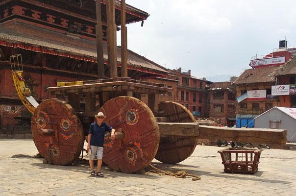 ...der am nepalesischen Neujahrsfest zum Tauziehen verwendet wird.