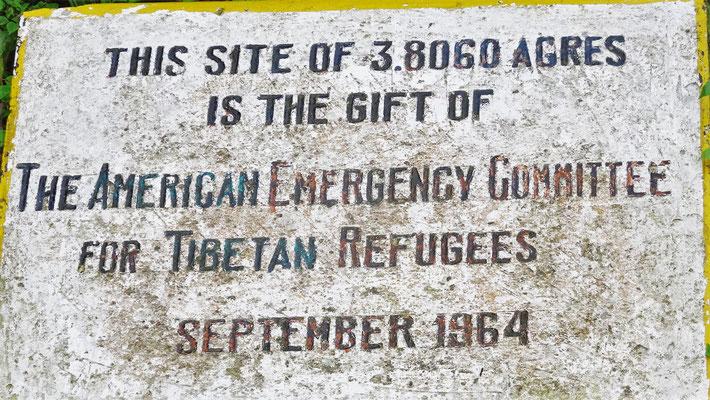 ..ein Geschenk der Amerikanischen Tibeter.