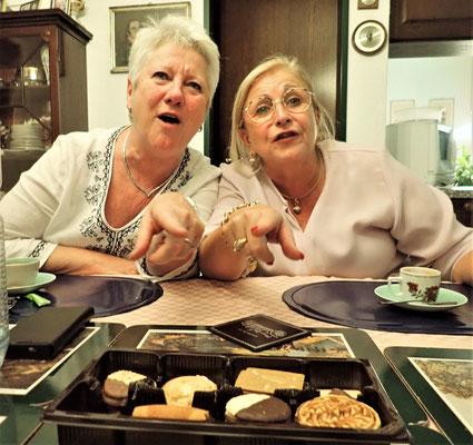 ......Doris mit Liliane.
