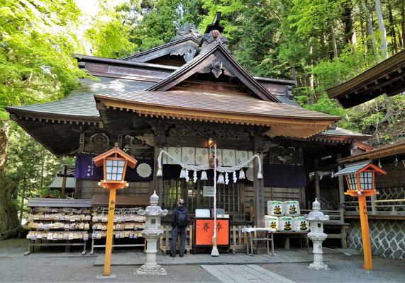 .....mit dem kleinen Shrine.