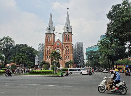 Die Kathedrale wird saniert.