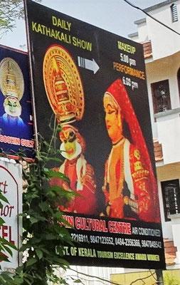 Die Kathakali Show mit...
