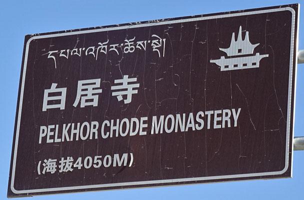Das Kloster Gyangtse..