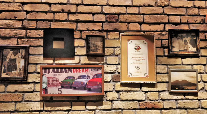 ....im typisch Italienischen Restaurnt...