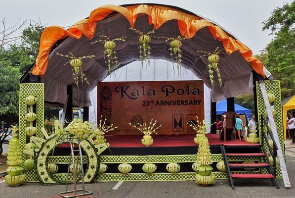 Jeden Sonntag morgen bei Kala Pola.....