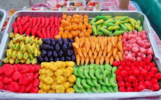 .....in verschiedenen Farben.