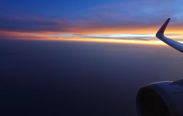 Ein Sonnenuntergang.....