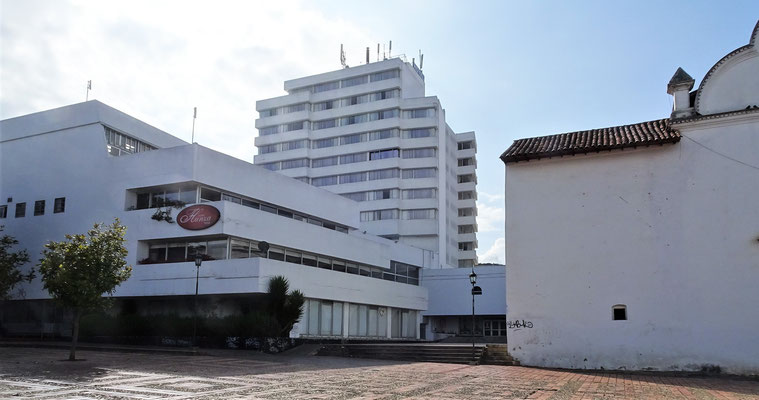 Das Hotel Hunza in Tunja.