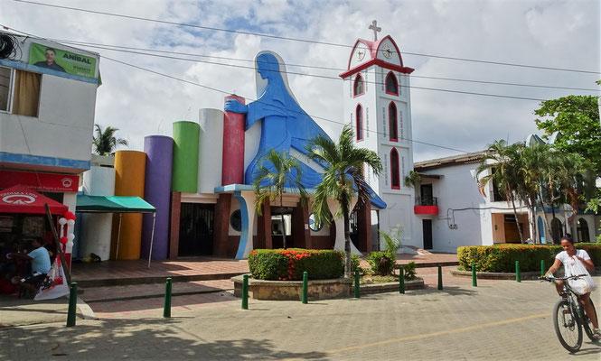 Die spezielle Kirche mit.....