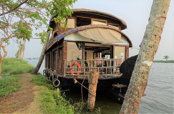 Unser Hausboot....