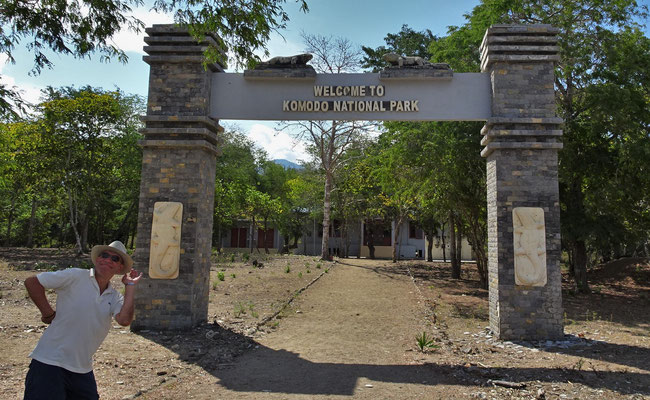 Der Komodo Nationalpark.