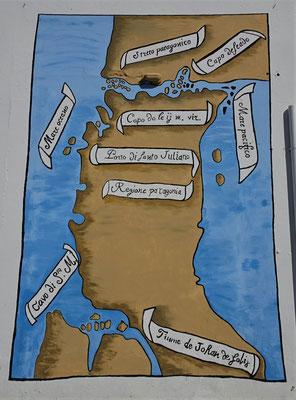 .....die Landkarten zeichnete.