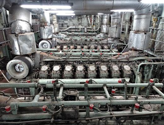 Der Maschinenraum.....