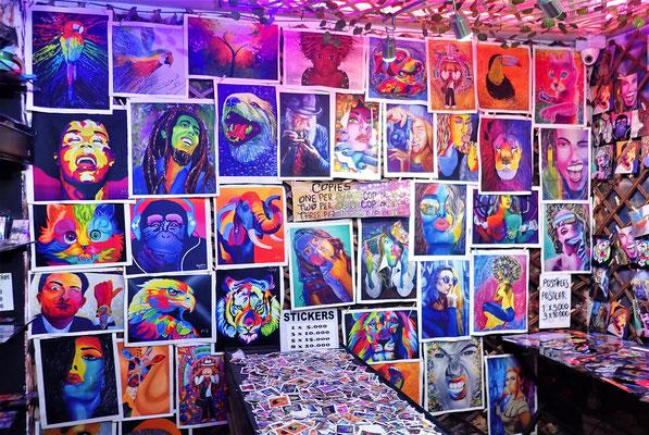 Die Galerie eines Künstlers......