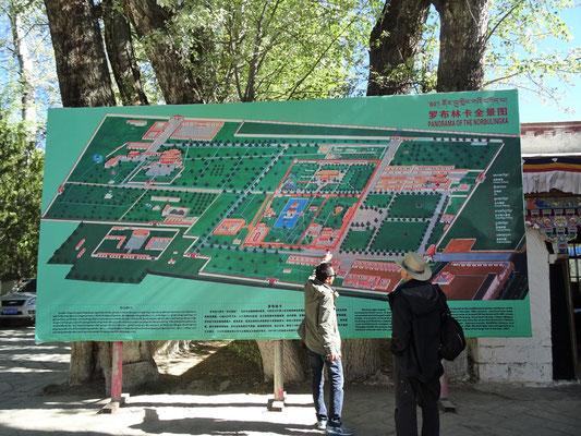 Die Sommerpaläste der Dalai Lama's
