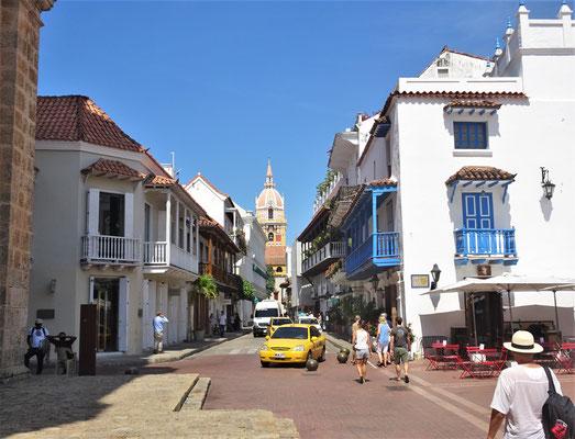 Die gut erhaltene Altstadt.....
