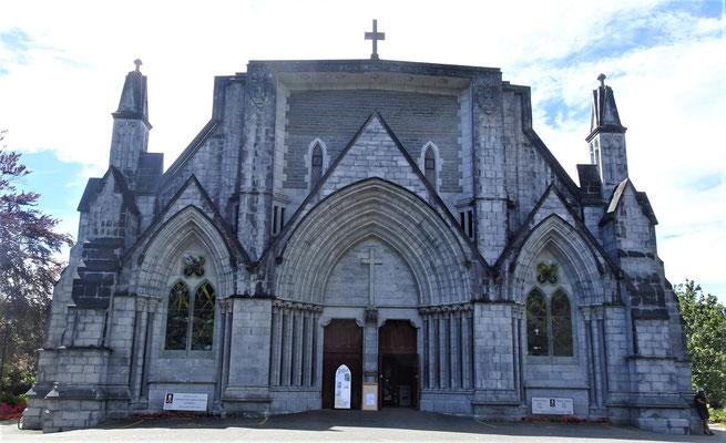Leider ist die Kathedrale nicht viel besser.