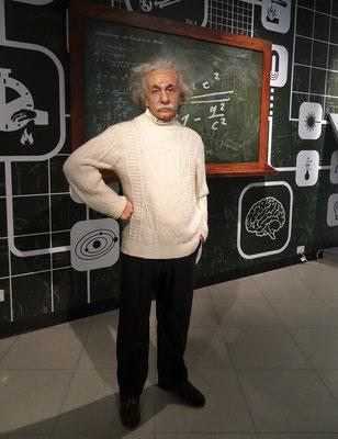 Auch Einstein und....