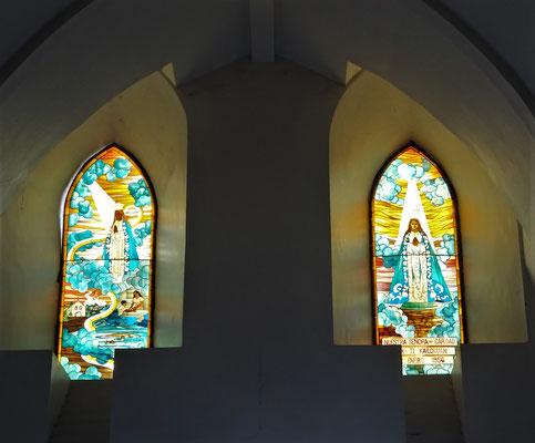 ...den schönen Kirchenfenster....