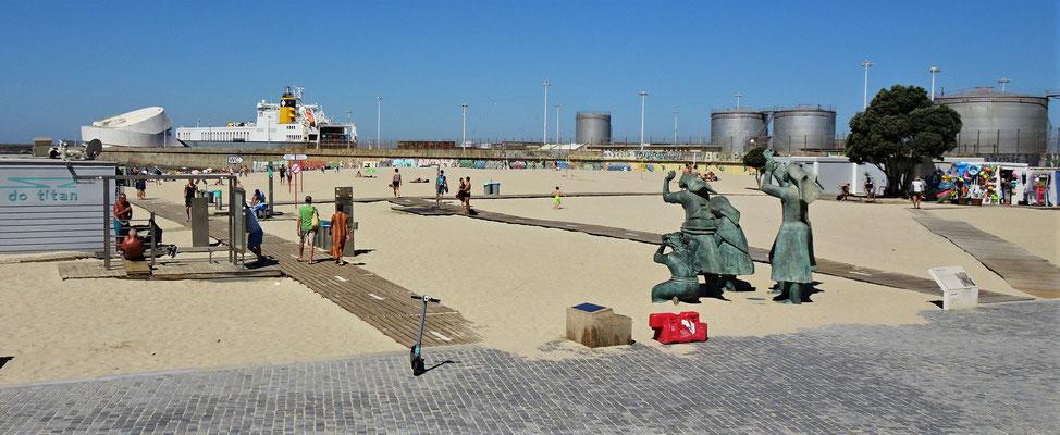 Der Strand von Porto.