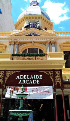 Die Adelaide Arcade....