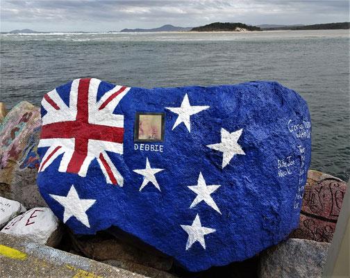 ....und natürlich Australier.