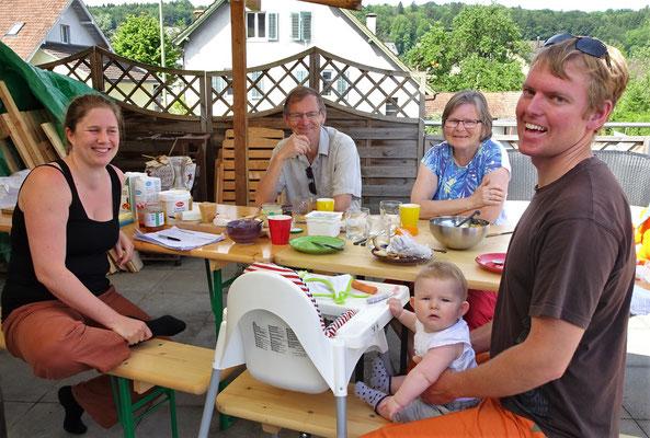Vivianne und Kjell die Eltern von Niklas.