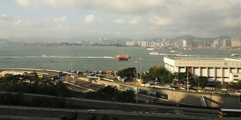......und Hong Kong Island.
