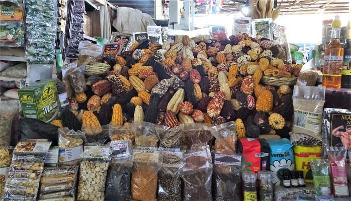 Verschiedene Maissorten.