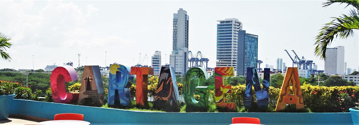 Die Stadt Cartagena wo.....
