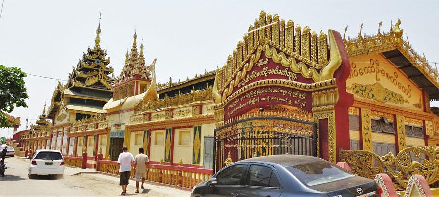Auf dem Weg nach Bagan.....