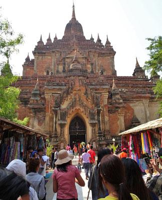 Der Htilo Minlo Tempel aus dem 13. Jh.