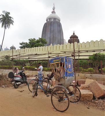 Der berühmte Jagannath Tempel...
