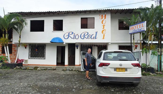 Das einfache Hotel in Mutata....