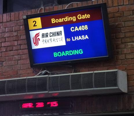 """Endlich nach 6 Stunden nach """"Lhasa"""".."""