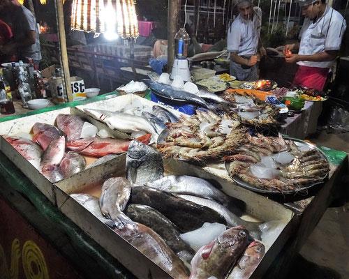 Herrlich frischen Fisch....