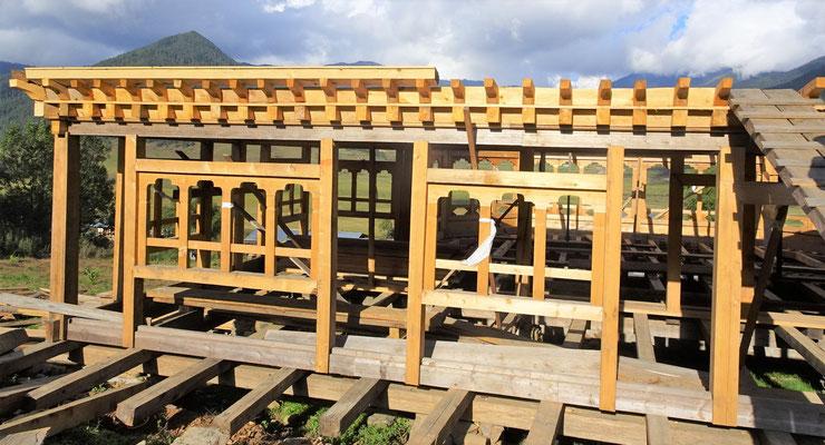Ein Holzhaus...