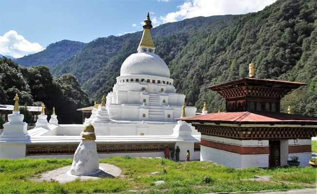 Der Kora Chorten (Stupa) wo...