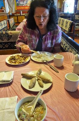 Der Lunch mit Bali- Brot
