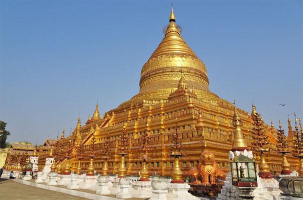 Die Shwe Zi Gone Pagoda....