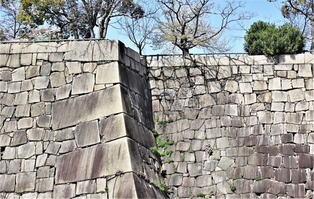 Gewaltige Schutzmauern......