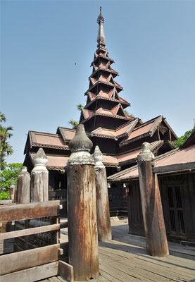 Das Bagaya Kloster aus dem Jahre 1834....