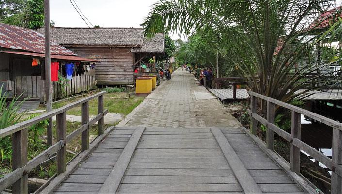 Das Tanjung Harapan Village....