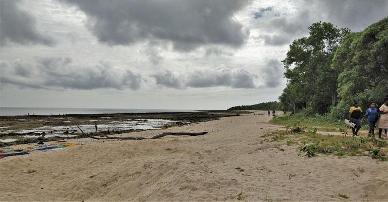 .....die ausgedehnte Beach.....
