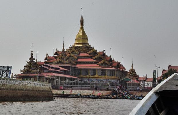 Die Pandawoo Pagoda.