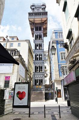 Der Elevator de Santa Justa.