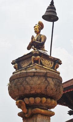 ..dem König Bupalendra Malla (Baumeister von Bhaktapur)